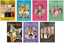 The Golden Girls Complete Series Seasons 1-7/Final (7 DVD Sets,21 Discs) NEW