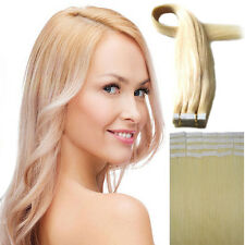 Remy Human Hair Extensions Tape in Skin Weft Hair 16''18''20''22''US Ship AAAAAA