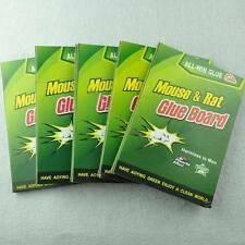 5X MAX strong Sticky Glue Mouse Rat Snake Bugs Mice Trap Catcher Board Rodent  A