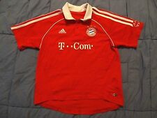 Adidas Bayern Munich home soccer jersey 2006/07 youth kids size M
