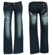 "Tribal ""Cracy Queen"" Jeans  W27-Gr.34  ""Cracy Queen"" Jeans  Hose Tribal Denim"