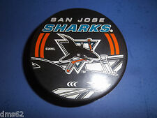 NEW SAN JOSE SHARKS OFFICIAL NHL HOCKEY PUCK  NHL LICENSED PUCK 10