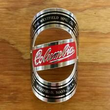 COLUMBIA BICYCLE HEAD BADGE FITS MANY OLD BIKES NOS