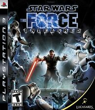 STAR WARS The FORCE UNLEASHED PS3 - LN