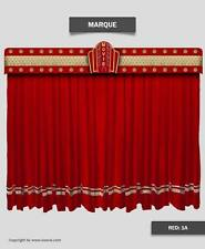 Saaria Stage Home Decorative Movie Velvet curtains Event Theater Stage 20'Wx9'H
