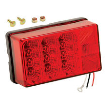 """Wesbar Waterproof 7-Function Right/Curbside LED Tail Light 4x6"""" for Trailer  80"""""""
