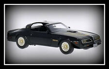 wonderful modelcar PONTIAC FIREBIRD TRANS AM 1977 - black  -  1/43 - ltd.ed.500