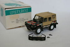 Graphyland Kit monté 1/43 - VW Iltis Winner Paris Dakar 1980