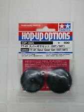 TAMIYA 1/10 - HOP-UP TT-01 SPUR GEAR SET 55T/58T  - ART. 53665