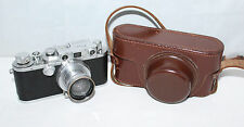 Reid & Sigrist III Type I Camera - Leica Summar 50mm f/2.0 lens + case -Serviced