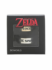 The Legend of Zelda Princess Link HIS & HER Boxed Costume Ring Set 7 & 11 NEW