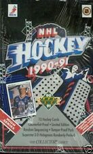 4 BOX LOT 1990-91 UD UPPER DECK HIGH SERIES HOCKEY