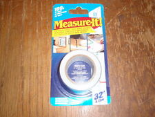 2-Adhesive Measuring Tape Repositionable Self Stick Ruler Tape Measure-32 foot