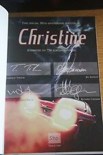 2013 STEPHEN KING 30th ANNIVERSARY EDITION CHRISTINE W/SLIPCASE  #590  REDUCED