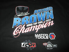 2013 ANTRON BROWN NHRA Top Fuel Dragster Champion (3XL) Shirt MATCO TOOLS