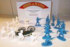 Armies in plastic 5670-Guerre Napoleoniche, 8 PRUSSIANO LANDWEHR & 10 francese 1/32