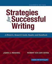 Strategies for Successful Writing (11th Edition), von der Osten, Robert A, Reink