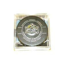 2011 NHL Winter Classic Capitals vs Penguins Game Puck Cube READ DESCRIPTION