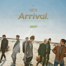 GOT7-[FLIGHT LOG:ARRIVAL] Album CD+POSTER+3 Photo Books+Log Book+4p Photo Card