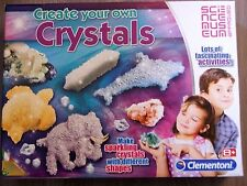 CREATE YOUR OWN CRYSTALS SET BY CLEMENTONI BRAND NEW SCIENCE MUSEUM AGE 8+