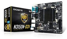 Gigabyte N3150N-D3V Intel ITX Motherboard DVI and VGA