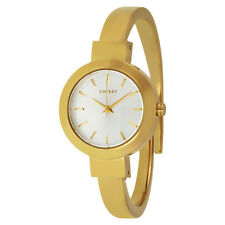 DKNY Stanhope Gold-Tone Bangle Watch NY2350