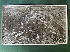 JURA: pli calcaire région ST CLAUDE- SEPTMONCEL.  PHOTO AERIENNE 27 x 45  LAPIE