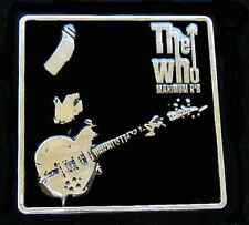 THE WHO MAXIMUM R & B BELT BUCKLE BUCKLES LICENSED NEW!