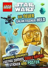 Fachbuch LEGO® Star Wars™, Ein neuer galaktischer Held, mit Raumschiff-Poster