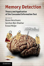 Memory Detection: Theory and Application of the Concealed Information Test, , Ve