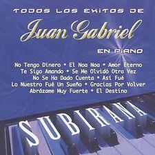 Todos los Exitos de Juan Gabriel en Piano by Juan Pablo Subirama (CD,...