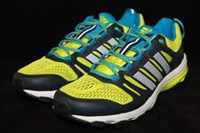 Men's Adidas Supernova Riot 6 Running Sneakers,Yellow/White/ Navy Size 8.5