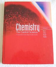 Chemistry The Central Science Vol 2 Custom Edition For College of Southern Nevad