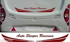 AUTO SLEEPER RAVENNA MOTORHOME 2 PIECE KIT DECALS STICKER CHOICE OF COLOUR