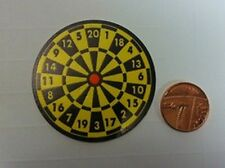 Dartboard For a Dolls House Miniature Darts Board Ideal For Games Room Or Pub