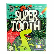 SUPER TOOTH Card Game - Board DINOSAURS Matching Ages 6+