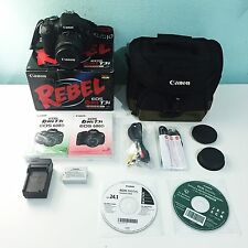 Canon EOS Rebel T3i / EOS 600D 18.0 MP Digital SLR Camera w/ Accessories