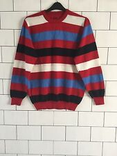 URBAN VINTAGE RETRO FISHERMAN 90'S GRANNY KNIT OVERSIZED COSBY JUMPER #112