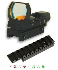 Dovetail Rail Adaptor + Tactical Reflex Sight Fits Henry .22 US Survival Rifle