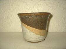 Vintage SDW Stoneware Design West Calif pottery planter Mid Century abstract HTF