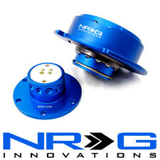 NRG 2.5 Gen Steering Wheel Quick Release Hub - Blue / Blue Ring | SRK-250BL