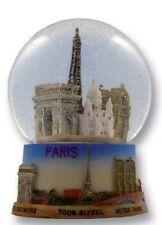 SNOW GLOBE PARIS EIFFEL TOWER XXL SOUVENIRS FRANCE BOLA DI NIEVE PALLA DI NEVE