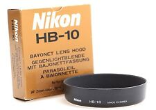 Genuine Nikon HB-10 Bayonet Lens Hood for 28-80mm f3.5-5.6 D-AF Lens New HB10