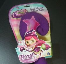 Little Charmers Hazel Witch Cleaning Broom Halloween Girl Costume Plush Toy Soft