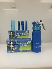600 Whipped Cream Chargers Nitrous Oxide N2O WHIP-IT COMBO BLUE