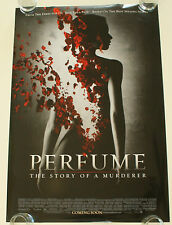 PERFUME STORY OF A MURDERER 27X40 DS MOVIE POSTER ONE SHEET NEW AUTHENTIC