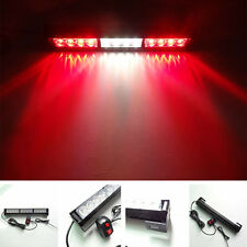 12 LED Emergency Warning Truck Car Strobe Flash Light  Bar Hazard Security 12V
