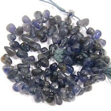 """113 CTS AAA 100% NATURAL SUPERB IOLITE  S-5 TO 7 MM LOOSE GEMSTONE BEADS 13"""""""