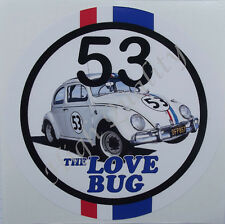 VOLKSWAGEN BETTLE  STICKER.   Z038.    VW