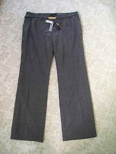 $160 NWT TALBOTS 100% WOOL GRAY HERITAGE DRESSY PANTS SLACKS 24W 3X 433 (Bd_l)